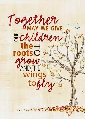 give children wings and roots - Google Search