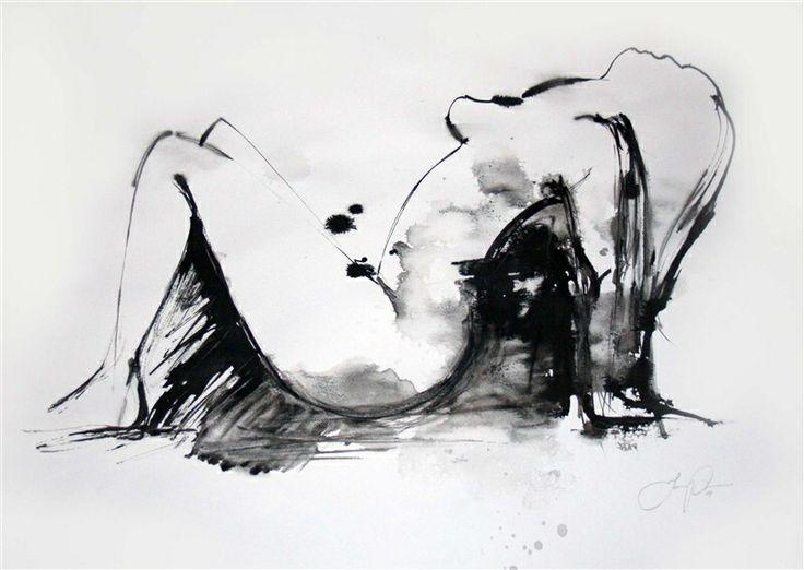 Illustration art ink by Jacqueline tamm