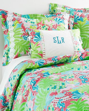 Lilly Pulitzer 174 Sister Florals Comforter Cover In