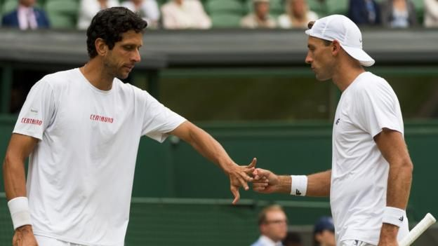 Kubot & Melo win epic men's doubles final     Wimbledon 2017 on the BBC     Venue: All England Club Dates: 3-16 July Starts: 11:30 BST   Live: Coverage across BBC TV, BBC Radio and BBC Sport website with further coverage on Red Button, Connected TVs and app. Click for full...