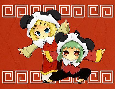 リン&GUMIの画像 プリ画像