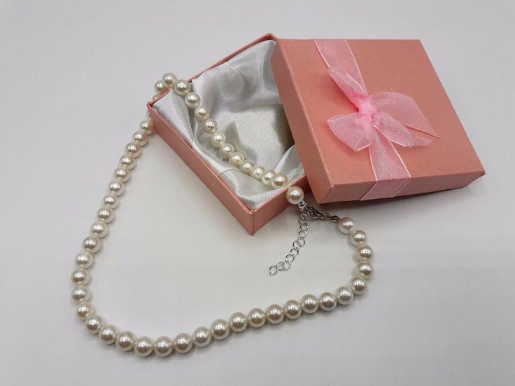 Collier perles de culture - Perle de culture Grade A - Cadeau femme - Collier Vintage - Made in France- Fait main