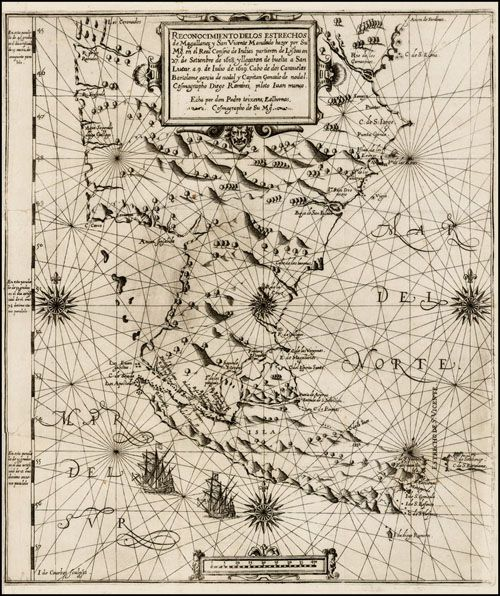 El estrecho de Magallanes, por Carlos García Santa Cecilia en De libros raros, perdidos y olvidados