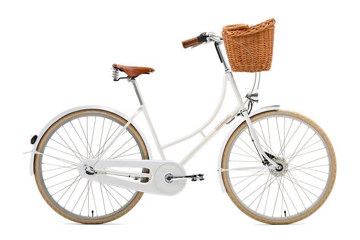 Creme  Holymoly Lady Doppio 3-speed dynamo white günstig kaufen bei fahrrad.de