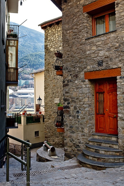 Andorra living: El Puial. Historic village of Andorra la Vella photo by lutzmeyer, via Flickr