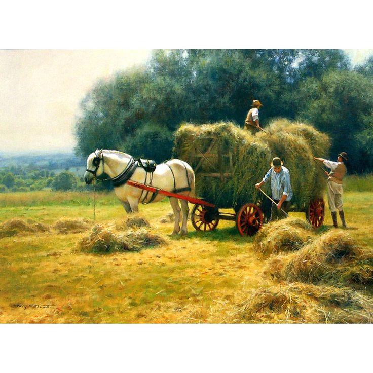 Horses - Hay Making - 6 pack