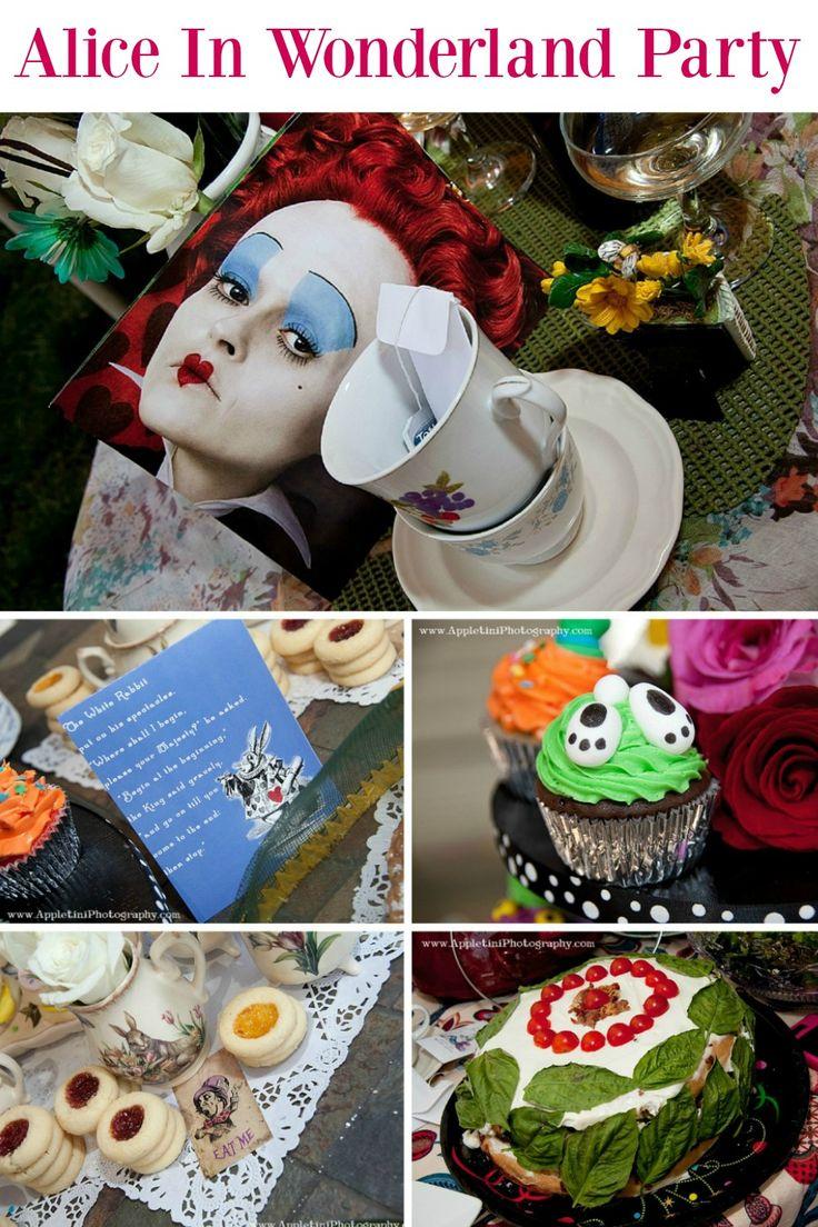 155 best Alice in Wonderland Party images on Pinterest