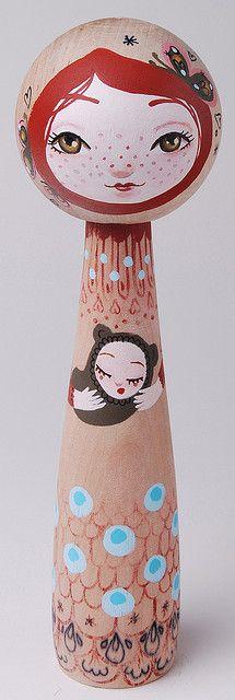 Japanese Kokeshi Doll|こけし
