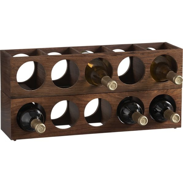 Wood Wall Mount Stacking Wine Racks Stackable Wine Racks