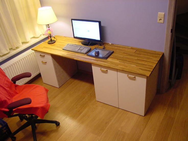 IKEA Hackers: Custom computer desk
