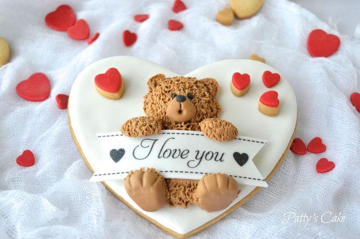 Saint Valentine's Teddy Bear   Cookie Connection