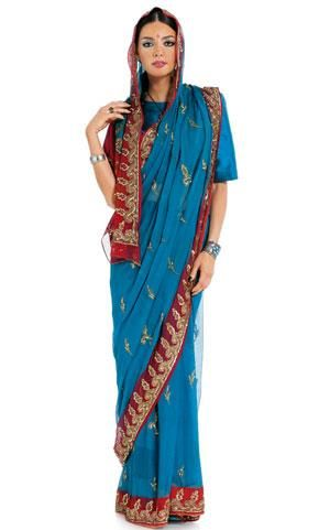Карновальный костюм индианка