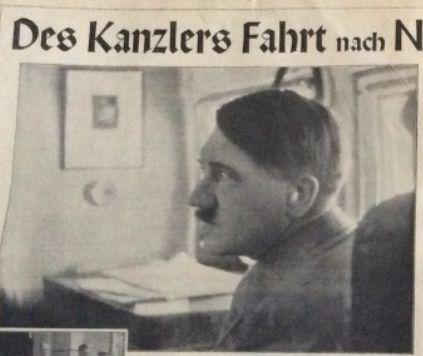 Hitler in 1933 from the Illustrierte Beobachter. (via putschgirl)
