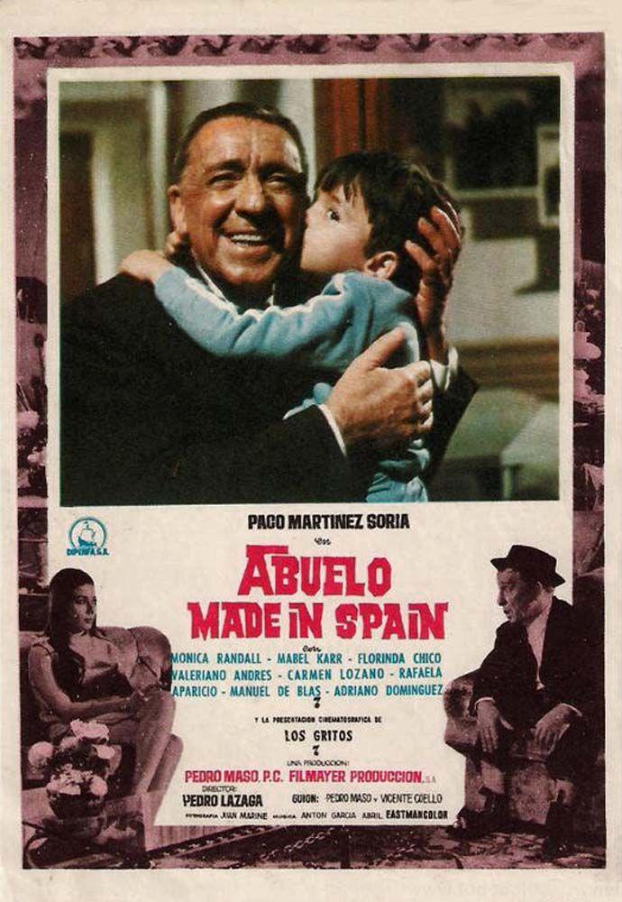 1969 - Abuelo made in Spain - 1000 veces la he visto y ahora otra mas, podría ver cualquier pelicula de Paco Martinez Soria millones de veces. Me encantan todas.