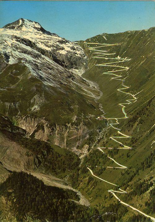 Stelvio Pass - 1972