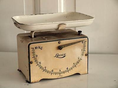 Old weighing scales - love them