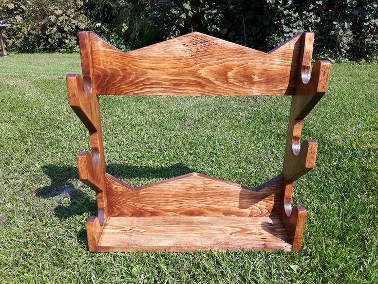 Reclaimed Wood Gun Rack · Gun RacksCountry RoadsSolid Wood Furniture GunsWeaponsPistolsRevolvers
