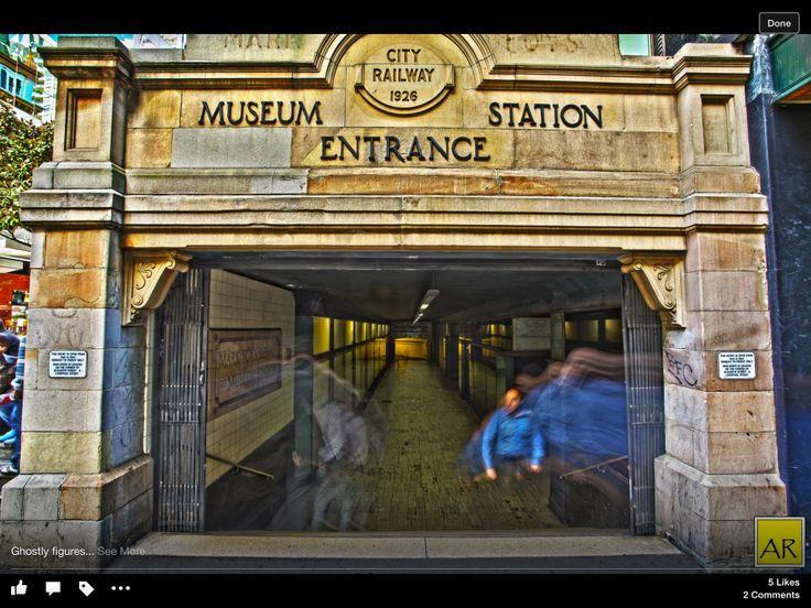 Museum Station. Copyright Aaron Rusden Photography