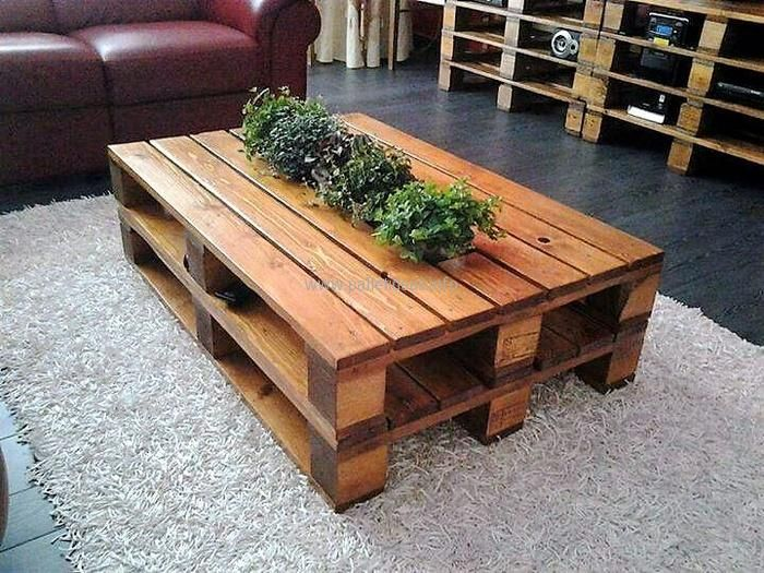 3 Recycled Pallet Coffee Table Pallet Table Diy Pallet Diy Wooden Pallet Table