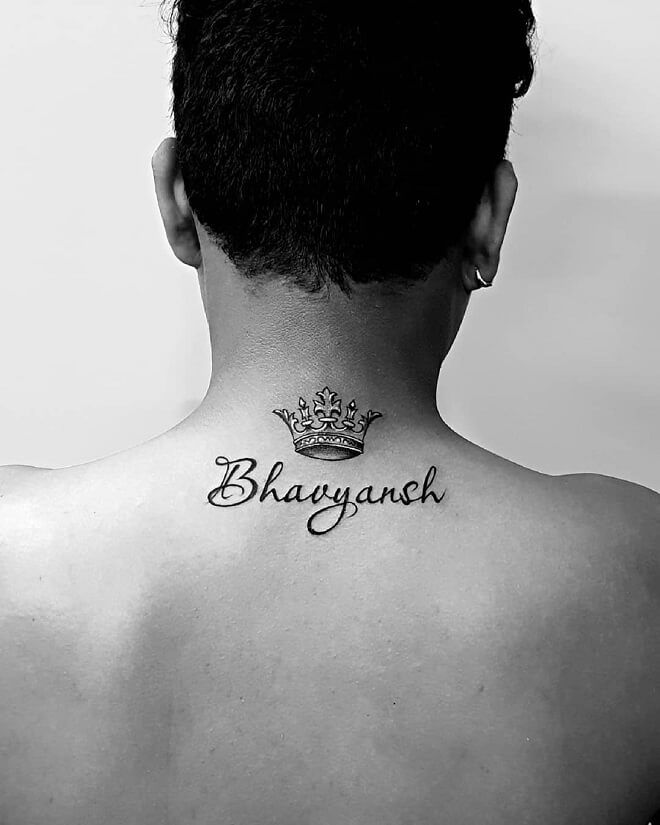 Last Name Back Tattoo : tattoo, Tattoo, Brilliant, Ideas, Women, Names, Tattoos, Back,, Girls