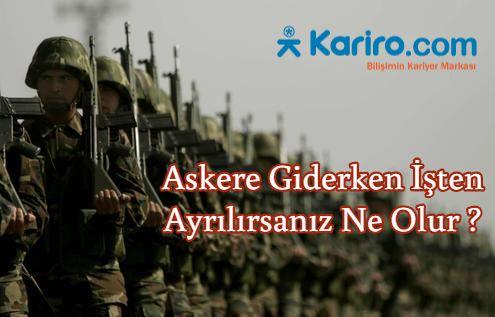 Askere Giderken İşten Ayrılırsanız Ne Olur ? #kariyer #askerlik #kıdem #ihbar #staj #stajyer