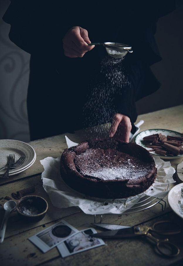 Kladdkaka - Swedish chocolate cake
