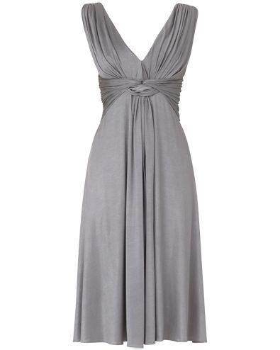 Womens PewterAria Dress