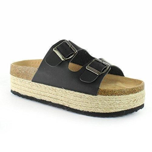 Oferta: 34.99€. Comprar Ofertas de VIVES SHOES 112-1139 Sandalia plataforma esparto Ugly Shoes barato. ¡Mira las ofertas!