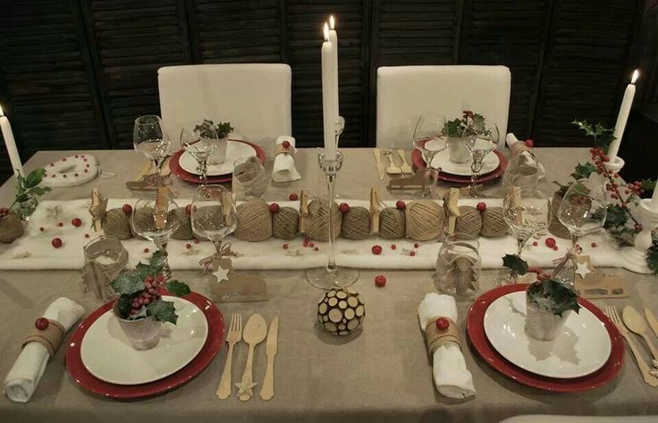 25+ best ideas about Deco De Table Noel on Pinterest
