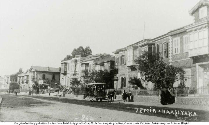 Karşıyaka-Lonner's Mansion -1891 salnamesinde 832 ev, toplam 1080 olan nüfus, bir yıl sonraki sayımda 966 ev, 1778 islam, 1002 Rum, 219 Ermeni, toplam 2999 kişi olarak belirlenmişti