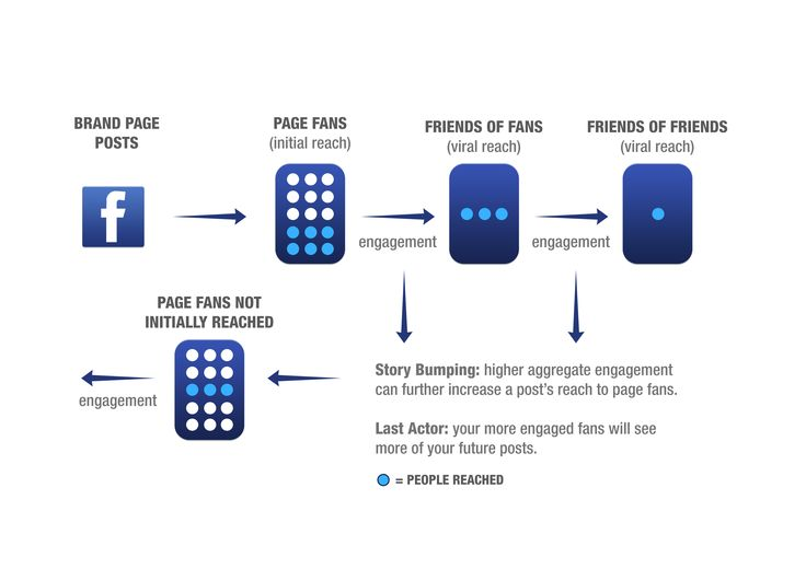Facebook Algorithm Visualisation. #net101 #socialmedia