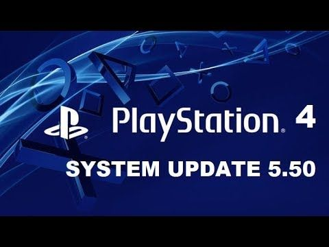 PS4 System Update 5.50 Available Now - PS4 PRO SuperSampling Support & More