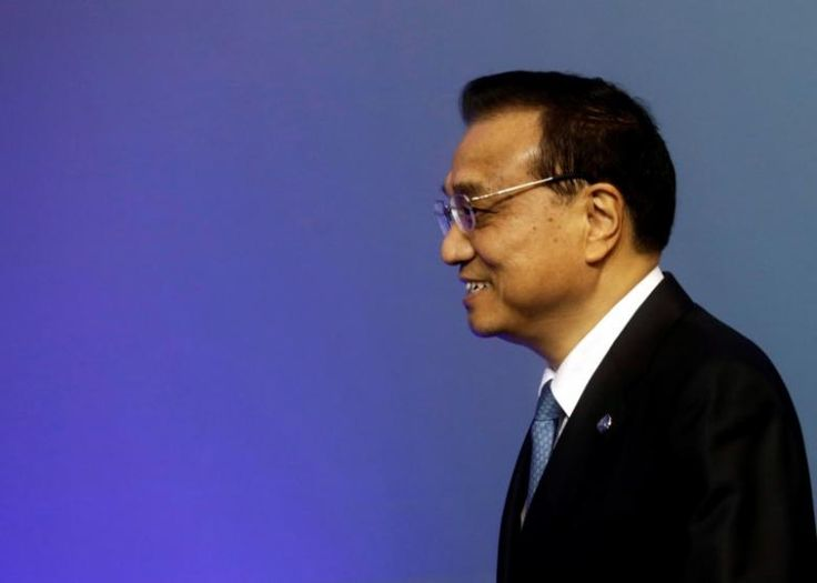China's Premier Li Keqiang arrives to the meeting of heads of government Central and Eastern European countries and China in Riga, Latvia, November 5, 2016.  REUTERS/Ints Kalnins - RTX2S1MQ