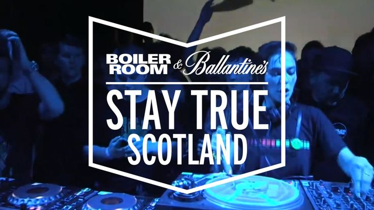 Nina Kraviz Boiler Room & Ballantine's Stay True Scotland DJ Set