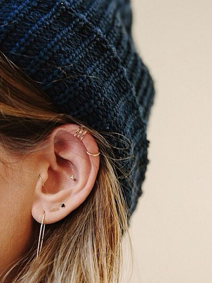 Piercing oreille