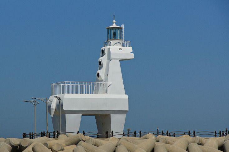 Iho Hang East Breakwater lighthouse [c. 2009 - Iho Hang, Jeju Island, South Korea]