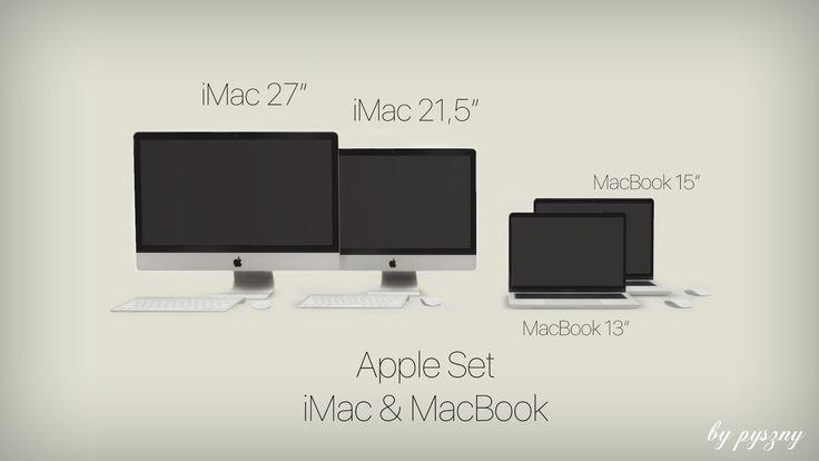 Apple Set - iMac & MacBook - pysznydesign