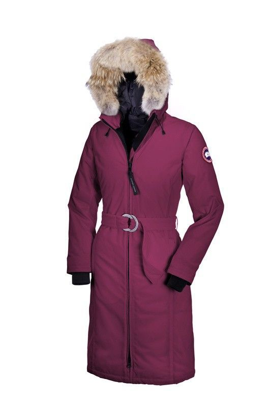 Women Canada Goose Whistler Parka Berry