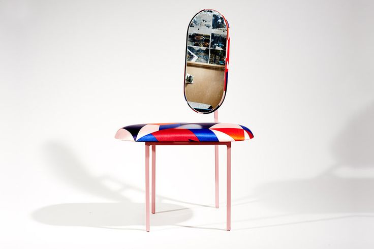LIMITED EDITION MIRROR CHAIR - MARC JACOBS COLLABORATION