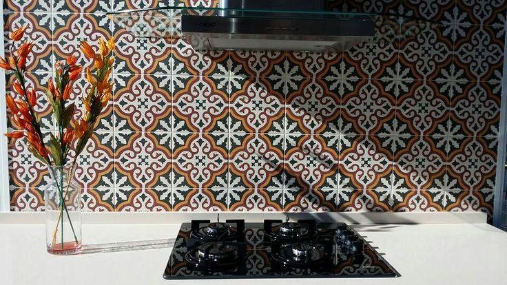 Splash back option: Centro Gotica Tile - $84/sqm from Kalafrana Ceramics