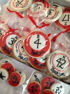 Relay for Life Idea-sell cookies and then select a bingo number for prizes!
