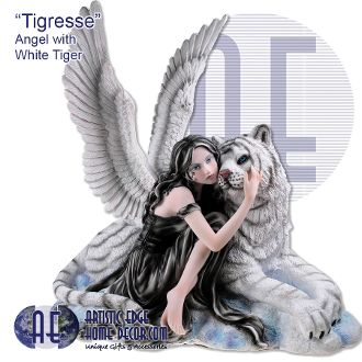 "Tigresse"" - Angel with White Tiger"
