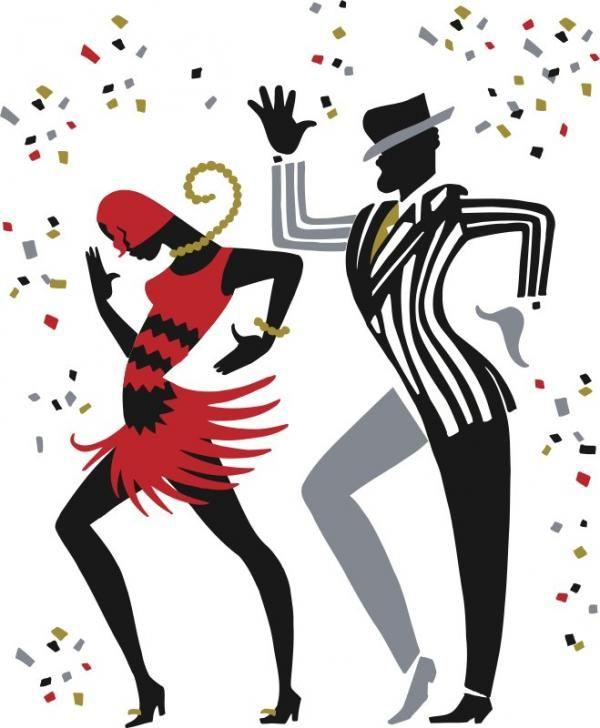 Caminhada do bolo - Música e dança são parte integrante do processo de criação de arte de Ty.  A nova coleção de obras de arte pelo artista Ty Wilson, explora as palavras por trás da música na definição de Jazz.