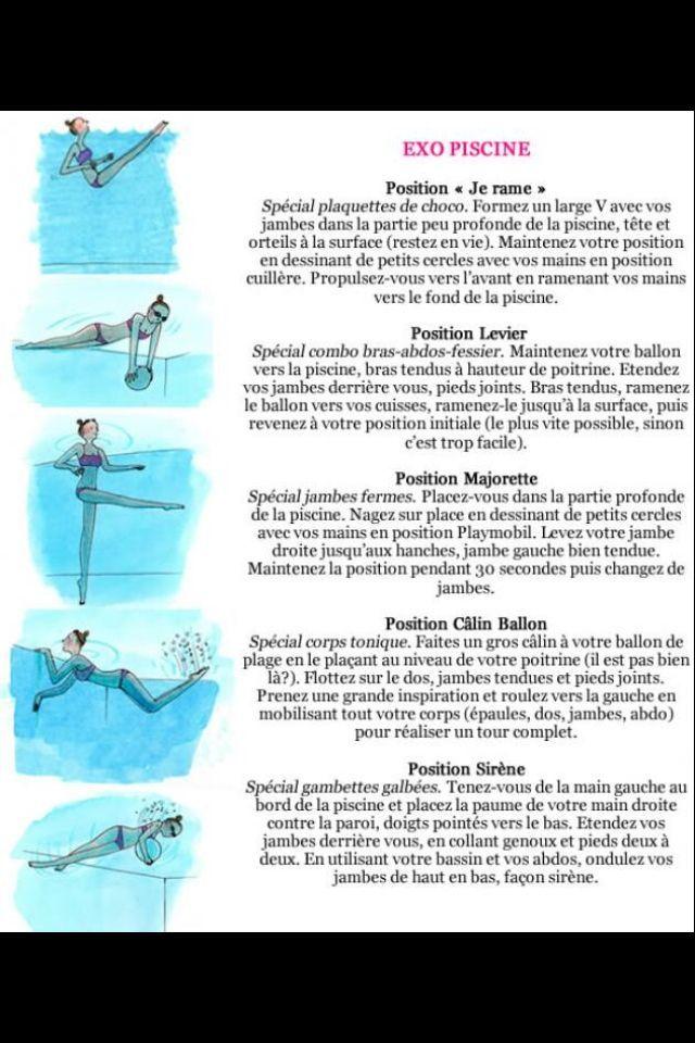 les 49 meilleures images du tableau aquagyms sur pinterest aqua conseils et exercices. Black Bedroom Furniture Sets. Home Design Ideas