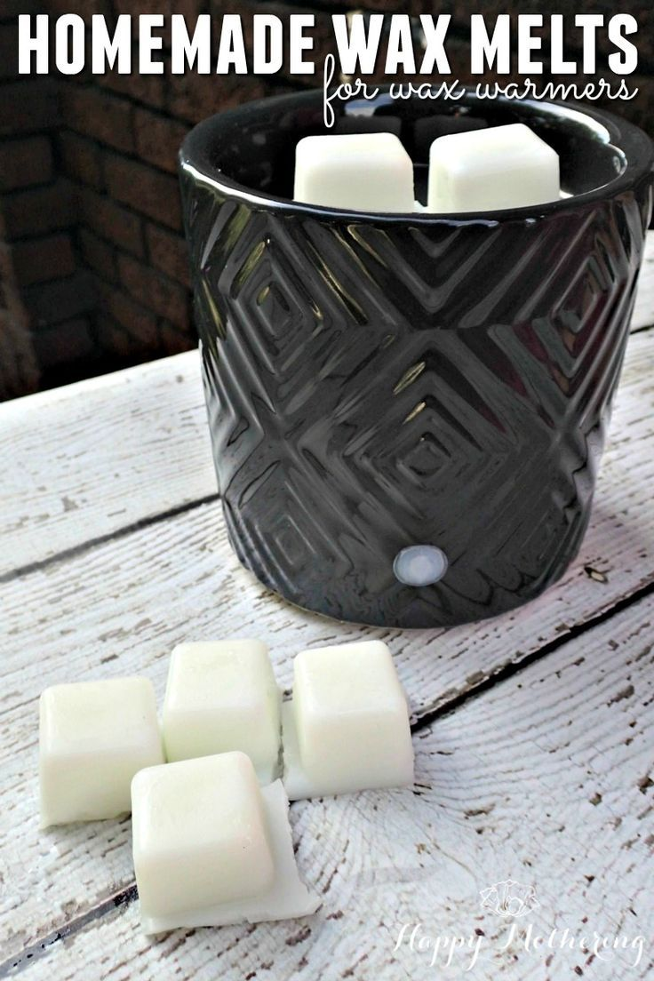 Do you love your wax warmer, but worry about the toxic chemicals emitted from your wax tarts? Try your hand at making these DIY natural wax melts at home.