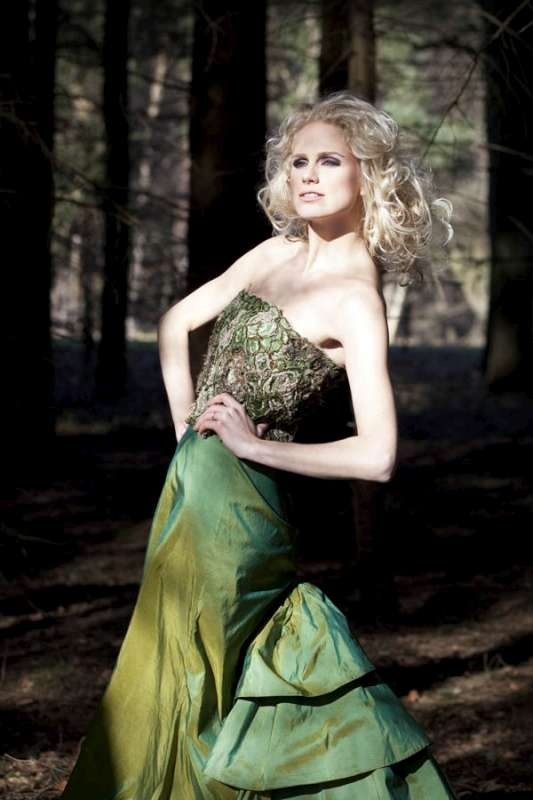 Evening gowns in the forest.    Photographer: Nikipolman.eu  Model: Lindy