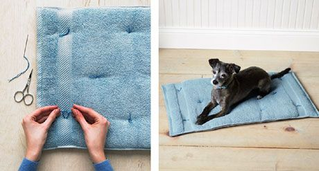 Savvy Housekeeping » 12 Things To Do With Old Towels