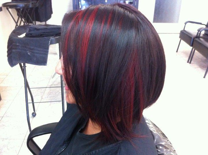 Peekaboo Hair Styles: 25+ Best Ideas About Red Peekaboo On Pinterest