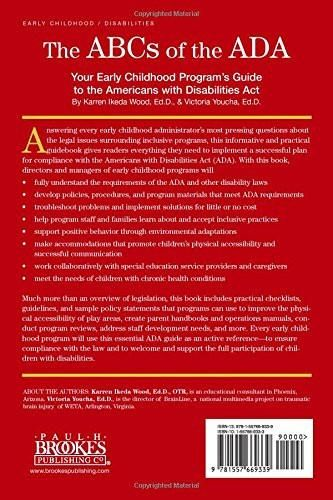 The ABCs of the ADA: Your Early Childhood Program's Guide to the Americans with Disabilities ActYour