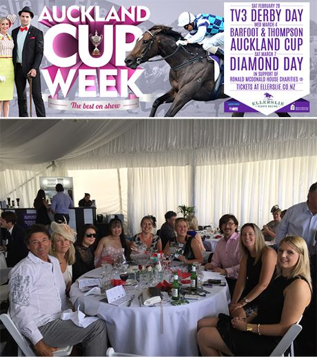 Plumbline Sponsors Ronald McDonald House at the Auckland Cup Week 2015 Diamond Day